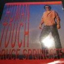 Discos de vinilo: BRUCE SPRINGSTEEN - HUMAN TOUCH - SN - EDICION HOLANDESA DEL AÑO 1991.. Lote 112050943