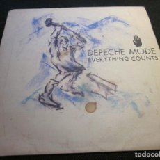 Discos de vinilo: DEPECHE MODE - EVERYTHING COUNTS - SN - EDICION INGLESA DEL AÑO 1983.. Lote 112052363