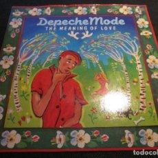 Discos de vinilo: DEPECHE MODE - THE MEANING OF LOVE - SN - EDICION INGLESA DEL AÑO 1982.. Lote 112052431