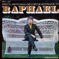 Discos de vinilo: RAPHAEL. ERES TU. EP ESPAÑA.. Lote 112054671