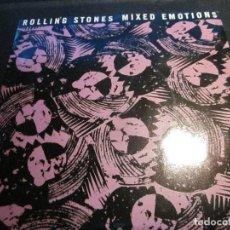 Discos de vinilo: ROLLING STONES - MIXED EMOTIONS - SN - EDICION INGLESA DEL AÑO 1989.. Lote 112055811