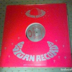 Discos de vinilo: THE TRIPLE THREAT THREE SCRATCH MOTION SATURN RECORDS US 1984 MAXI. Lote 112057891