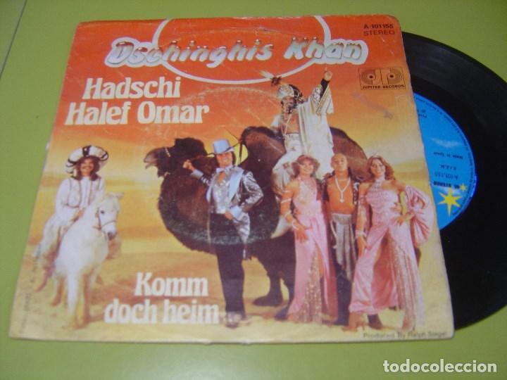 SINGLE 1979 - DSCHINGHIS KHAN - HADSCHI HALEF OMAR + KOMM DOCH HEIM - JUPITER (Música - Discos - Singles Vinilo - Funk, Soul y Black Music)