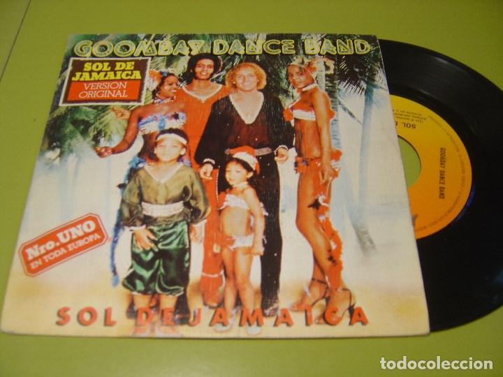 SINGLE 1980 - GOOMBAY DANCE BAND - SOL DE JAMAICA + ISLA DE SUEÑOS - CBS (Música - Discos - Singles Vinilo - Funk, Soul y Black Music)