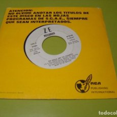 Discos de vinilo: SINGLE PROMOCIONAL 1982 - KID CREOLE AND THE COCONUTS . I´M A WONDERFUL THING + ANNIE - ZE. Lote 112062943