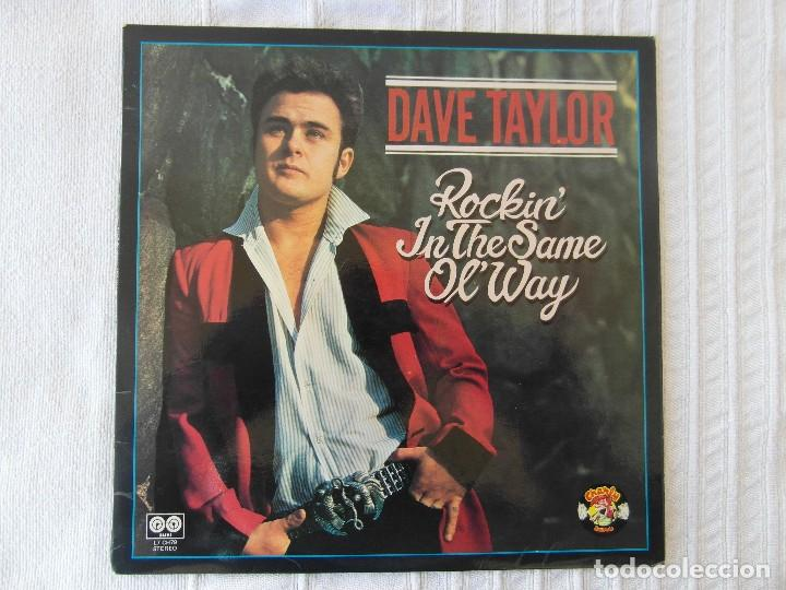 DAVE TAYLOR / ROCKIN' IN THE SAME OL' WAY (CHARLY RECORDS, L7 CH79, 1980) (Música - Discos - LP Vinilo - Rock & Roll)