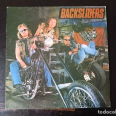 Discos de vinilo: BACKSLIDERS - NATIONAL NIGHTMARE - LP - FM REVOLVER 1987 UK HMI LP 103 - ROCK DURO. Lote 112072287