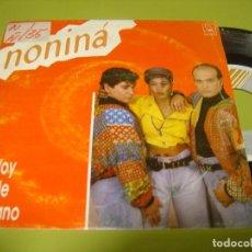 Discos de vinilo: SINGLE 1990 - NONINA - VOY DE VERANO + PERO NIÑA - HORUS. Lote 112074667