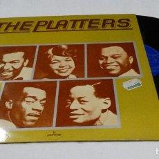 Discos de vinilo: THE PLATTERS - DISCO DE ORO LP 1975. Lote 112076879