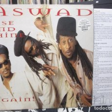 Discos de vinilo: ASWAD - RISE AND SHINE AGAIN! (2XLP, ALBUM) 1995 UK. Lote 112084187