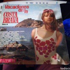Discos de vinilo: VACACIONES EN LA COSTA BRAVA VOL.II.1969. Lote 112088138