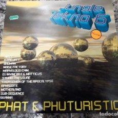 Discos de vinilo: JUNGLE TEKNO 6. PHAT & PHUTURISTIC. Lote 112090731