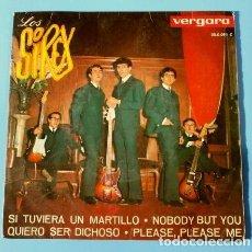 Discos de vinilo: LOS SIREX (EP. 1964) SI YO TUVIERA UN MARTILLO, PLEASE PLEASE ME .... Lote 112091679