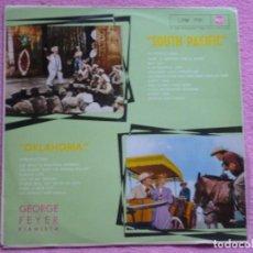 Discos de vinil: GEORGE FEYER,SOUTH PACIFIC Y OKLAHOMA DEL 62. Lote 112100711