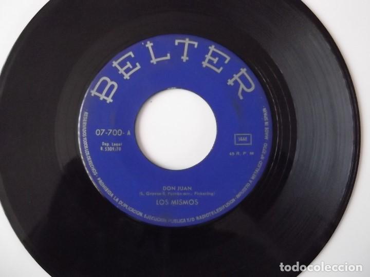 LOS MISMOS - DON JUAN (Música - Discos - Singles Vinilo - Grupos Españoles de los 70 y 80)