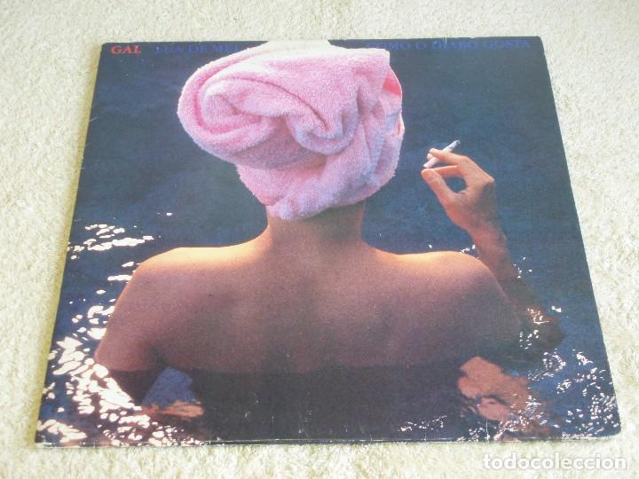GAL COSTA – LUA DE MEL COMO O DIABO GOSTA, BRAZIL 1987 RCA VICTOR (Música - Discos - LP Vinilo - Grupos y Solistas de latinoamérica)