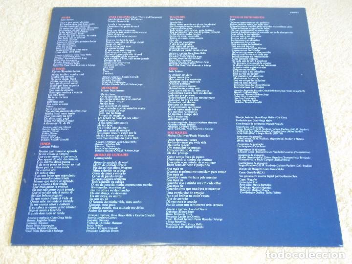 Discos de vinilo: Gal Costa – Lua De Mel Como O Diabo Gosta, Brazil 1987 RCA Victor - Foto 4 - 112105319