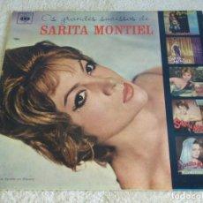 Discos de vinilo: SARITA MONTIEL ( OS GRANDES SUCESSOS DE SARITA MONTIEL ) BRASIL LP33 CBS. Lote 112112291