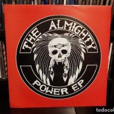 Discos de vinilo: THE ALMIGHTY - POWER EP. Lote 112123683