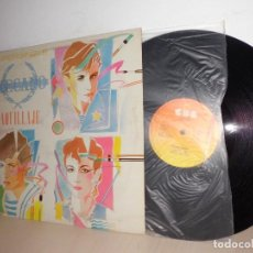 Discos de vinilo: MECANO -MAQUILLAJE -SUPERSINGLE- 1982 CBS- MADRID- . Lote 112125971