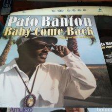 Discos de vinilo: PATO BANTON MAXI BABY COME BACK.INGLATERRA.1994. Lote 112133743