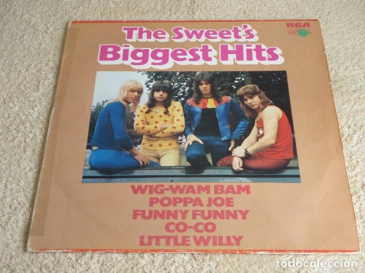 THE SWEET ( THE SWEET'S BIGGEST HITS ) 1972-GERMANY LP33 RCA VICTOR (Música - Discos - LP Vinilo - Pop - Rock - Extranjero de los 70)
