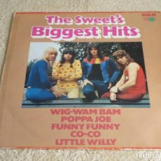 Discos de vinilo: THE SWEET ( THE SWEET'S BIGGEST HITS ) 1972-GERMANY LP33 RCA VICTOR. Lote 112135043