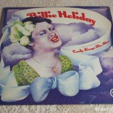 Discos de vinilo: BILLIE HOLIDAY ( LADY SINGS THE BLUES ) GERMANY LP33 VERVE RECORDS. Lote 112136743