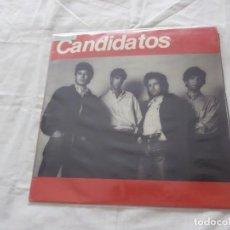 Discos de vinilo: CANDIDATOS MAXI-LP NO PUEDO MAS + 3 TEMAS (1987) ROCK VALENCIANO -NUEVO- SIN PINCHAR. Lote 112149123