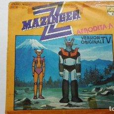 Discos de vinilo: MAZINGER Z / AFRODITA A - VERSION ORIGINAL. EN ESPAÑOL.PHILIPS EDICION ESPAÑOLA 1978. Lote 112163083