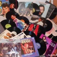 Discos de vinilo: LOTE LP BEATLES BEE GEES PRESLEY MICHAEL JACKSON ROD AL STEWART OLDFIELD..ROCK 60-80, DOBLES. Lote 112167423