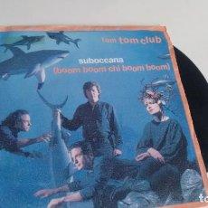 Dischi in vinile: SINGLE (VINILO) DE TOM TOM CLUB AÑOS 80. Lote 112191375