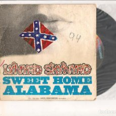Discos de vinilo: LYNYRD SKYNYRD SWEET HOME ALABAMA MCA RECORDS 1974. Lote 112197335