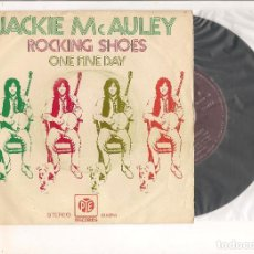 Discos de vinilo: JACKIE MCAULEY ROCKING SHOES PYE RECORDS 1972. Lote 112198791