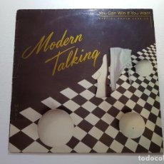 Discos de vinilo: MODERN TALKING,,YOU CAN WIN IF YOU WANT,,SPECIAL DANCE VERSION,,F-601670,,. Lote 112203187