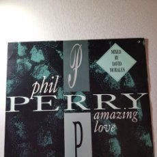 Discos de vinilo: PHIL PERRY,,, AMAZING LOVE..REF. 12CL615.. Lote 112208599