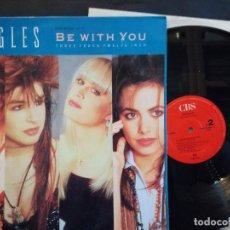 Discos de vinilo: DISCO LP VINILO BANGLES - BE WITH YOU - MAXI SINGLE 12 - 1988. Lote 112209759