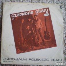 Discos de vinilo: LP. GRUPO AÑOS 60. CZERWONE GITARY. . Lote 112210979