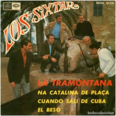 Discos de vinilo: LOS SIXTAR - LA TRAMONTANA - EP PROMO SPAIN 1968 - REGAL SEDL 19.576 . Lote 112220607
