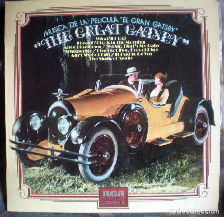 EL GRAN GATSBY- THE GREAT GATSBY LP 1974 BANDA SONORA (Música - Discos - LP Vinilo - Bandas Sonoras y Música de Actores )