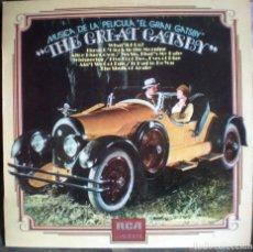 Discos de vinilo: EL GRAN GATSBY- THE GREAT GATSBY LP 1974 BANDA SONORA. Lote 112221475