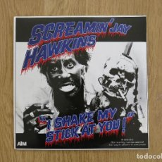 Discos de vinilo: SCREAMIN' JAY HAWKINS LP I SHAKE MY STICK AT YOU BO DIDLEY BIG JOE TURNER FATS DOMINO HOWLIN' WOLF. Lote 112228451