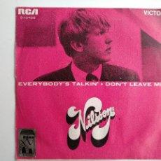 Discos de vinilo: NILSSON,L EVERYBODY IS TALKING, RCA, SINGLE. Lote 112229071