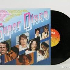 Discos de vinilo: DISCO DE VINILO - SUPER DISCO / JULIO IGLESIAS, ROBERTO CARLOS, MIGUEL BOSE - CBS- 1980. Lote 112240304