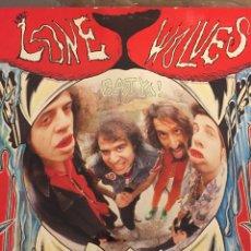Discos de vinilo: LP LONE WOLVES. (FUZZTONES). VINILO TRANSPARENTE. EAT YA!. Lote 112243700