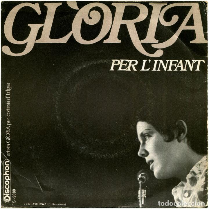 Discos de vinilo: Glòria - I Amb Tu (II Festival Internacional De Barcelona) - Sg Spain 1969 - Discophon S-5080 - Foto 2 - 112248183