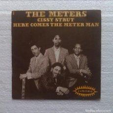 Discos de vinilo: THE METERS: CISSY STRUT/HERE COMES THE METER MAN. JUBILEE- SOUL- MOD - 60A. Lote 112258819