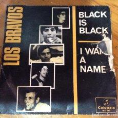 Discos de vinilo: BLACK IS BLACK-LOS BRAVOS. Lote 112263003