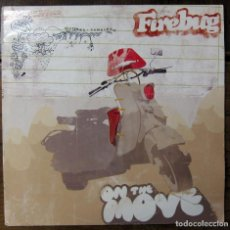 Discos de vinilo: FIREBUG - ON THE MOVE - 2006 - REGGAE, ROCKSTEADY, BRASIL. Lote 245417360
