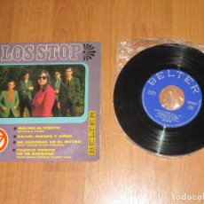 Discos de vinilo: LOS STOP - MOLINO AL VIENTO - EP - SPAIN - BELTER - T - . Lote 112272539